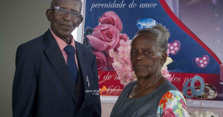 Casados há 60 anos têm 10 Filhos, 36 netos, 26 bisnetos e trisneta – anciãos agradecem a Deus pela família