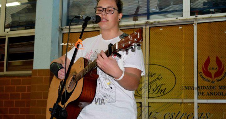 Intercâmbio: Artista portuguesa visita Praiseart