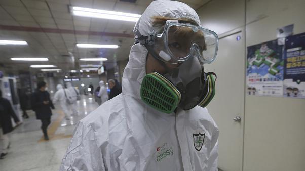 Seita religiosa propaga coronavírus na Coreia do Sul