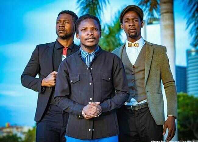Kark Sumba, John Kanga e Nell Jazz, formam o Trio Convergente. (Foto: cedida)