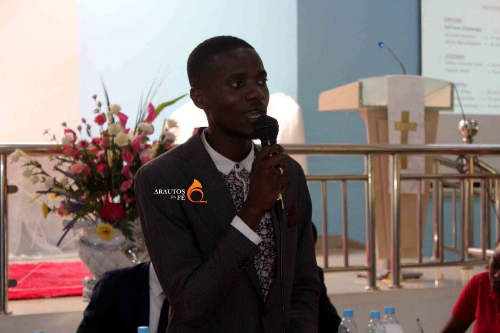Novo director da Sociedade de Jovens da IECA em Luanda