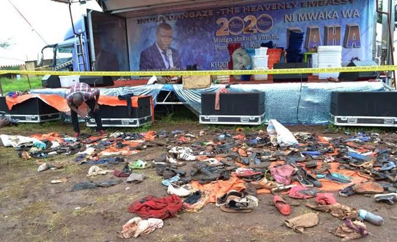 Pastor que organizou o evento acabou preso pelas autoridades quando tentava fugir do país.