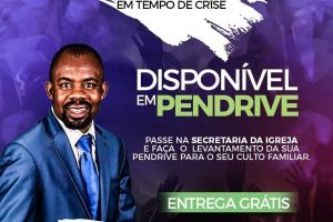 Pastor oferece pendrive com pregações